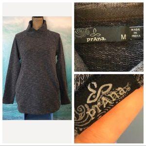 prAna Women's Medium Sweatshirt Gray EUC